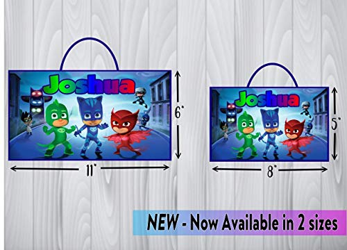 Personalized Pj Masks Sign Pj Masks Per Buy Online In Bahamas At Desertcart