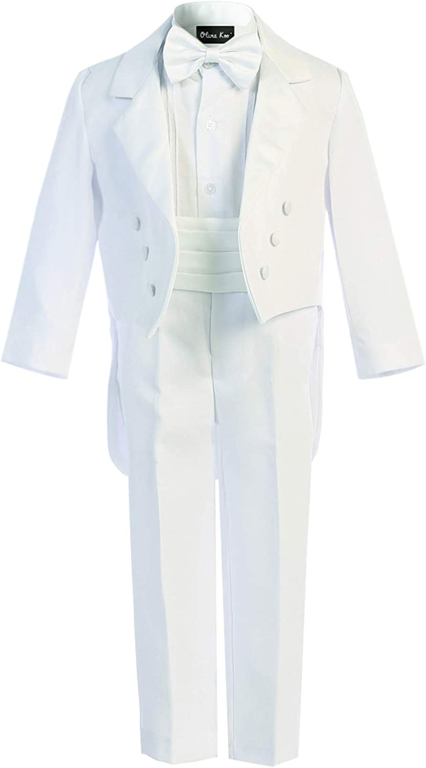 OLIVIA KOO Boy's Classic Ring Max 74% Sale special price OFF Boy Set Signature Tail Tuxedo with