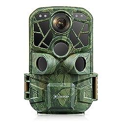 """【WiFi Intégré et Contrôle APP】 Grâce au WiFi intégré, cette caméra de chasse facilement contrôlée même si elle se trouve dans un endroit difficile d'accès. Téléchargez l'application """"Hunting Camera"""" sur votre téléphone portable, activez/désactivez le..."""