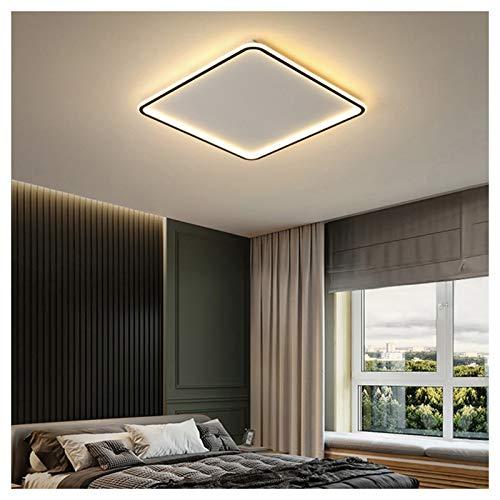 VIVITG Moderno LED Luces de Techo, Ultradelgado Ajustable Color Temperatura Cuadrado Candelabros por Sala Cuarto Encendiendo, 50 * 50cm,Natural Light