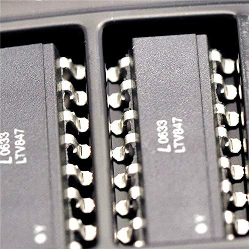 10 teile/los LTV847 optokoppler LTV847S SOP16 SMD paket original authentischen Auf Lager