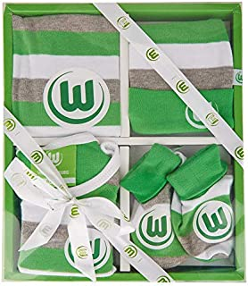 VfL Wolfsburg Baby-Geschenkbox 4er Set