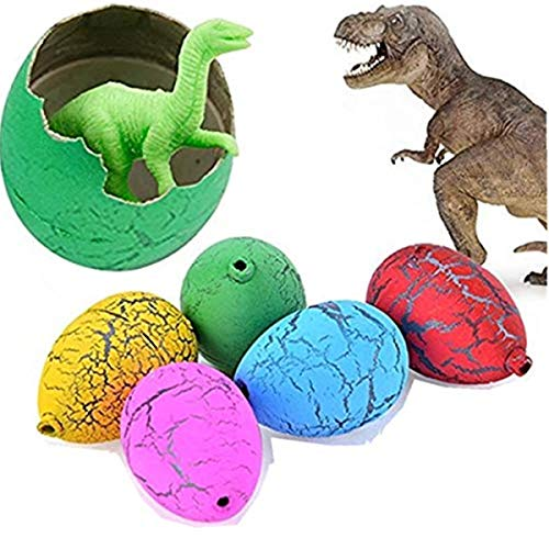 Jofan 24 PCS Dinosaur Eggs That Hatch Growing Easter Eggs with Mini Dinosaur Toys Inside for Kids Boys Girls Easter Basket Stuffers Gifts Fillers Party Favors Supplies