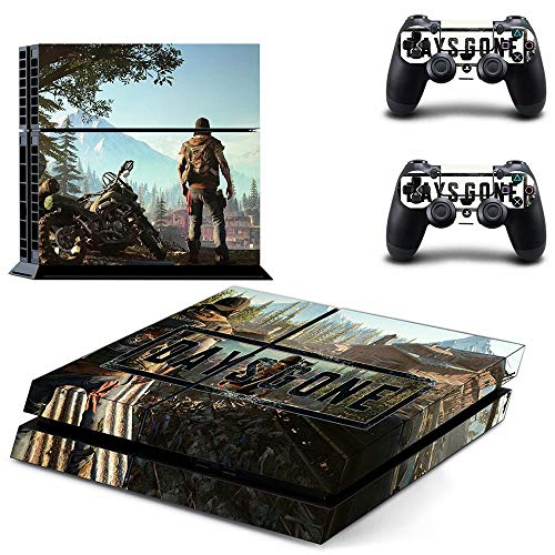 XIANYING Days Gone Ps4 Stickers Skin Sticker Game Decals For Playstation 4 Ps4 Console & Controller Game Skins Vinyl