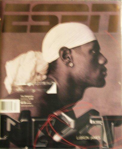 ESPN Magazine December 23 2002 Lebron James Cover