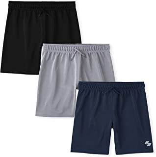 The Children's Place Boys Basketball Shorts 3-Pack, Multi