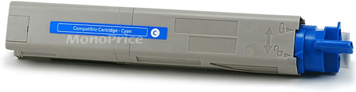 Monoprice 104910 Okidata Remanufactured Toners C3400n, C3530n MFP, Cyan