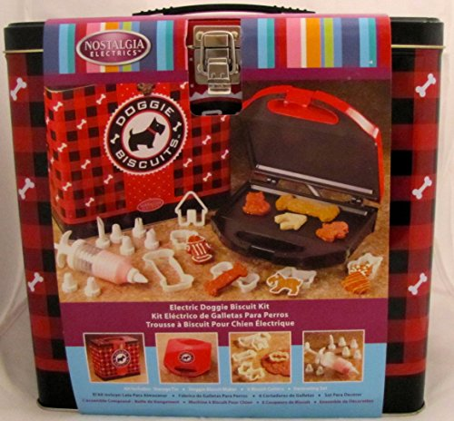 Nostalgia Electrics Doggie Biscuit Treat Maker Kit by...