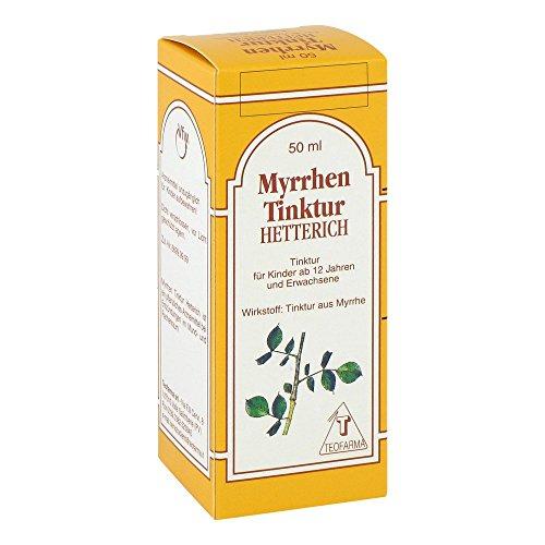 HETTERICH Myrrhen Tinktur, 50 ml Lösung