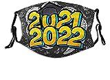 KEROTA Máscara facial de graduados de clase 2022, lavable,...