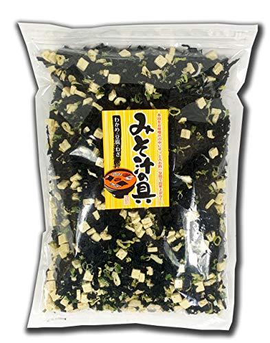 たっぷり具材のみそ汁の具(豆腐とねぎ)500g とっても大容量 業務用