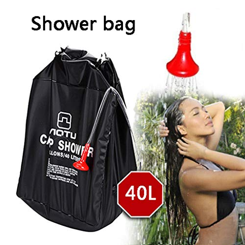 Review Of Vic2Vic Camping Shower Bag, Solar Shower Bag with Removable Hose and On-Off Switchable Sho...