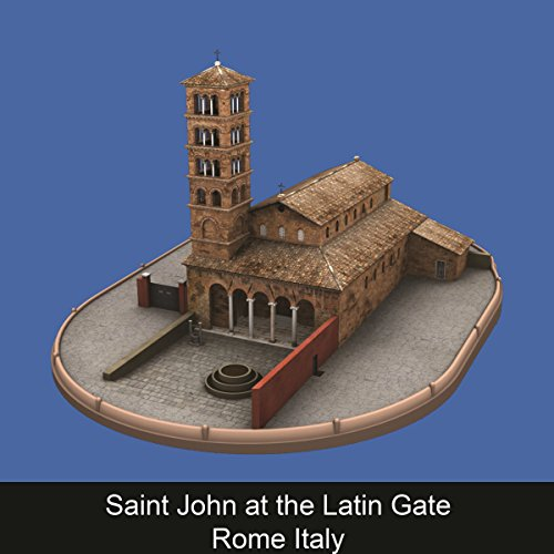 Saint John at the Latin Gate Rome Italy (ENG) copertina