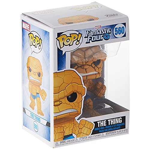 Funko- Pop Marvel: Fantastic Four-The Thing Collectible Toy, Multicolore, 44988