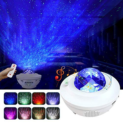 Night Light for Kids, LBell 3 in 1 Star Projector...