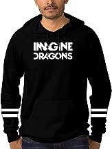 Mens Pullover Hoodie Imagine Dragons Evolve 3D Printing Long Sleeve Fleece Hoody Casual Tops Sweatshirt