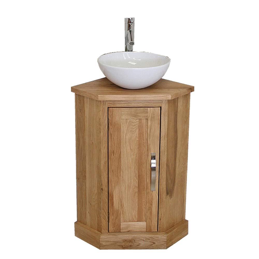corner bathroom sink amazon co uk rh amazon co uk Corner Bathroom Vanity with Sink Cabinet Small Bathroom Sink Cabinets