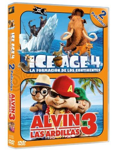 Duo- Ice Age 4/ Alvin Y Las Ardillas 3 [DVD]