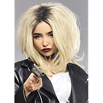 Mujeres de lujo La novia de Chucky peluca estilo: Amazon.es ...