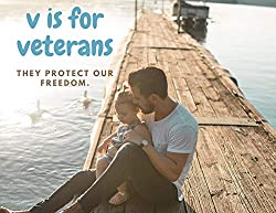 Image: V is for Veterans. They Protect Our Freedom: 2 Creative Stories. (A New Day Book 4) | Kindle Edition | by Art Fuller (Author). Publisher: J Ellington Publishing LLC; 2020th edition (October 30, 2020)