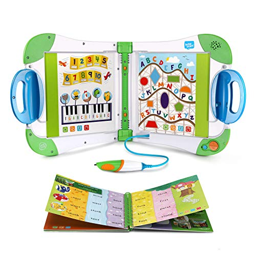LeapFrog LeapStart Interactive Learning System, Green (Frustration Free Packaging), Great Gift For Kids, Toddlers, Toy for Boys and Girls, Ages 2, 3, 4, 5, 6, 7