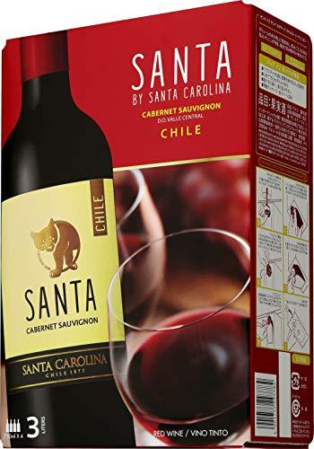 【チリの名門ワイナリーが作る、リッチな味わいのテーブルワイン】チリワイン サンタ バイ サンタ カロリーナ ソーヴィニヨン・ブラン バッグインボックス [ 白ワイン 辛口 チリ 3L ]