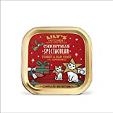 Lily's Kitchen Christmas Spectacular Turkey & Ham Paté Feast Cat Wet Food (19 x 80 g)