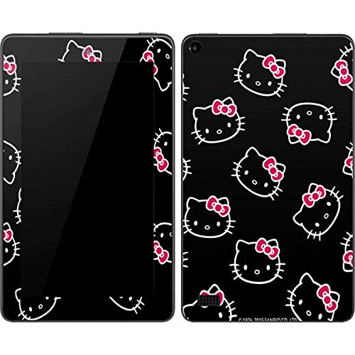 Skinit Decal Tablet Skin Compatible with Kindle Fire (7in 2015) - Officially Licensed Sanrio Hello Kitty Pattern Design