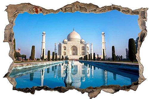 Tadsch Mahal Palast Indien Wandtattoo Wandsticker Wandaufkleber D0860 Größe 70 cm x 110 cm