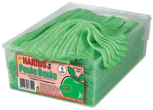 HARIBO - Pasta Basta - Fruchtgummi - Apfel - Box mit 150 Stück