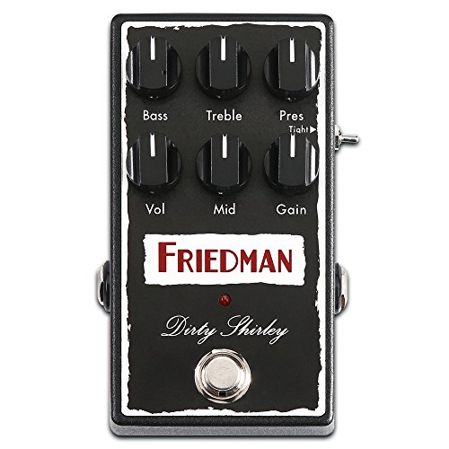 Friedman Amplification Dirty Shirley Overdrive Guitar Effects Pedal