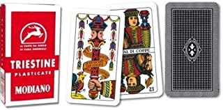 Triestine Regional Italian Playing Cards for Scopa and Briscola