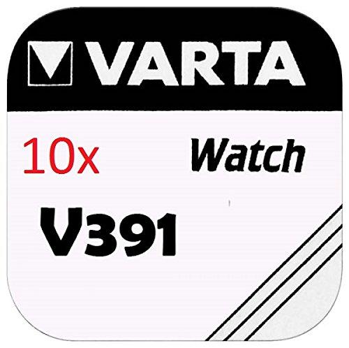 Varta Piles bouton - V391 Lot de 10