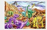 1000 Piezas Rompecabezas Madera niño Puzzle Dinosaurio Adultos...