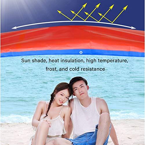 JDKC- Tarps, Tarpaulin, Waterproof, Sun-proof and Rain-proof Thickened Canvas, Canopy Shade Plastic Cloth Tarpaulin, Customized (Size : 4X8M)