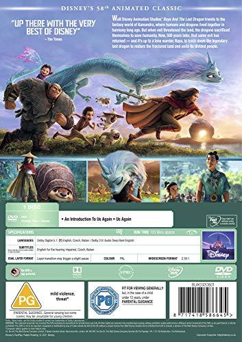 Raya and the Last Dragon DVD [2021]
