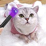 Lámpara de musgo de madera para gatos, luz de musgo para perros, luz de madera, detección de hongos para mascotas, multifunción, 2 en 1, veterinario, bolsillo, veterinario, juego profesional (USB)