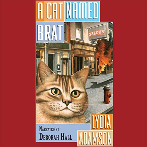 A Cat Named Brat audiobook cover art
