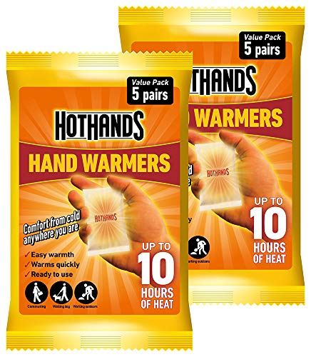HOTHANDS Hand Warmers Value Pack - Pack of 2 (5 pairs each)
