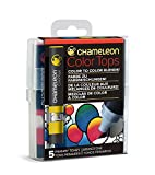 Chameleon Art Products 5 Tops miscele Colore Toni Primari, 11x2x2