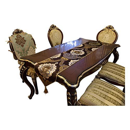 Branfan Europese tafellopers tafelkleden salontafel lopers tafelkleed TV kabinet pad handdoek moderne mode westerse voedsel flag-0 1_Tafellopers 34x220cm