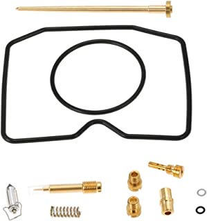CQYD New Carb Repair Carburetor Rebuild Kit for Kawasaki Prairie 300 KVF KVF300 1999-2002