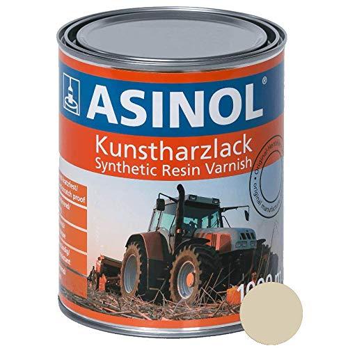 ASINOL IHC FELGENWEISS 1.000 ml Kunstharzlack Farbe Lack 1l Liter Dose