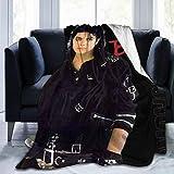 Luxury Fleece Blanket Anti-Pilling Flannel Sleep Comfort Super Soft Sofa Blankets 3D Print 50 40