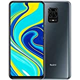 "Xiaomi Redmi Note 9S - Smartphone, 4 GB + 64 GB, 48 MP AI Quad Camera, 6.67"" FHD+ 5020 mAh Typ18W, Grigio (Interstellar Grey)"