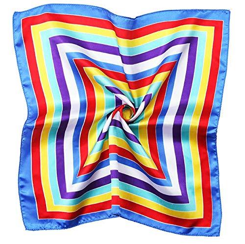 Chengj zijdedoek, klein, vierkant, voor hotel, hotel, air-hotel, winkel, bandana, zijde, 50 x 50 cm