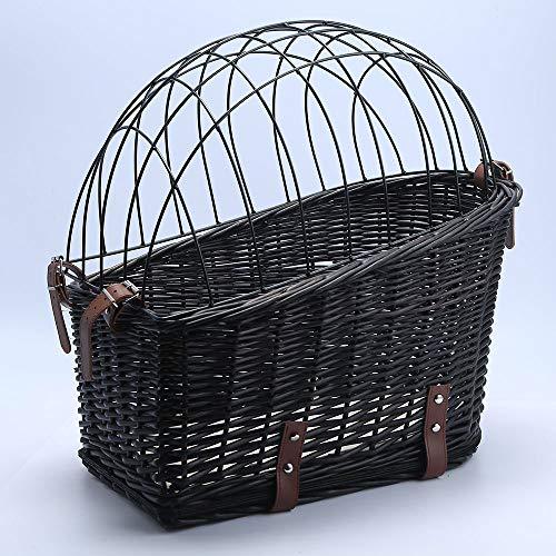 yasion Dog Basket for Bicycle, Dog …