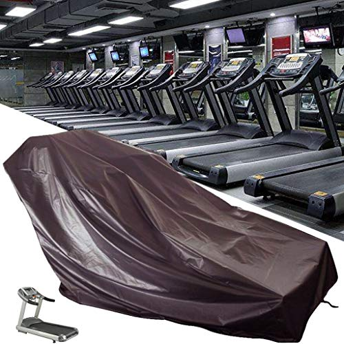 Mihoutao Treadmill Cover, Waterproof Dustproof Running Machine Cover with Windproof Drawstring and Air Vents for Home Gym Indoor Outdoor (Size : 180x75x140cm)