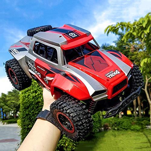 wangch RC Buggy 1/12 Bigfoot Control Remoto de Alta Velocidad Drift Toy Car 4WD Niños Electric Sports Modelo Coche Niño (Color : Rojo)