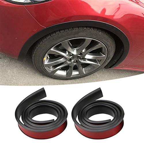 LUOSI 2 pc/Insieme dell'automobile del Veicolo 1.5M passaruota Paraurti Protezione Striscia Auto Accessori Auto Decor